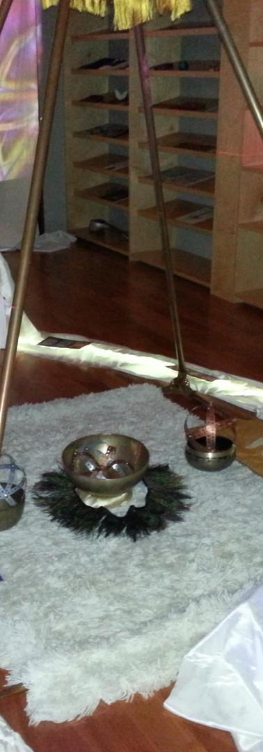 24 Goddess Yoni Womb Sacred Geometry Great Barrington Mass. Installation 2015