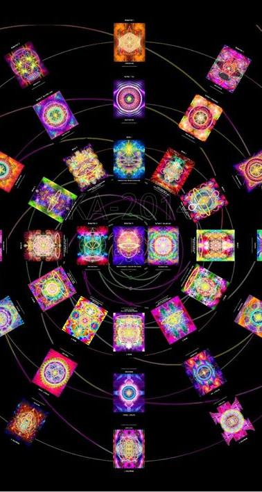 KA'ryna's 13 Golden Codes Divination Deck 2011