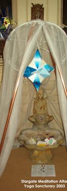 Stargate Meditation Altar 2004.jpg