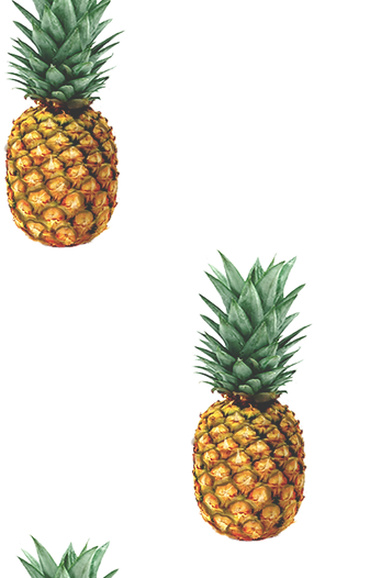 Motif d'ananas