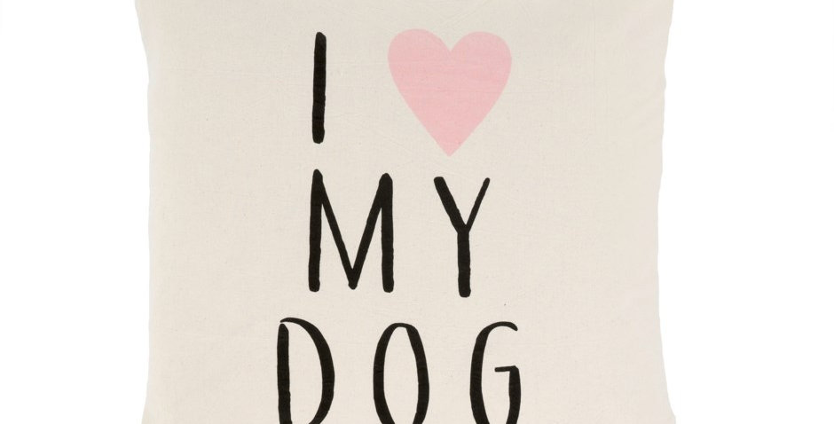 I ❤️ MY DOG PILLOW