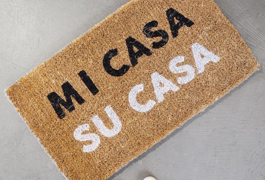 MI CASA SU CASA DOORMAT