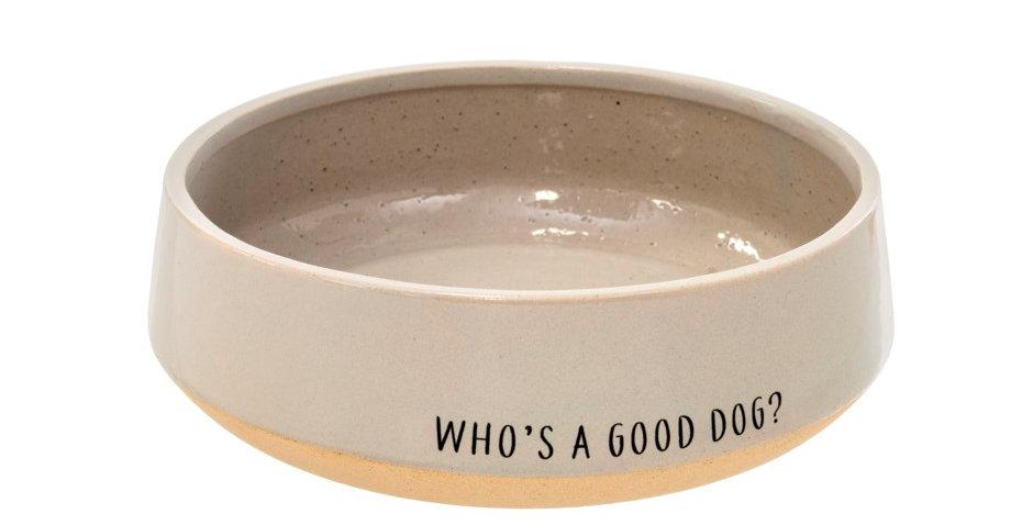 WHO'S A GOOD DOG? DOG BOWL