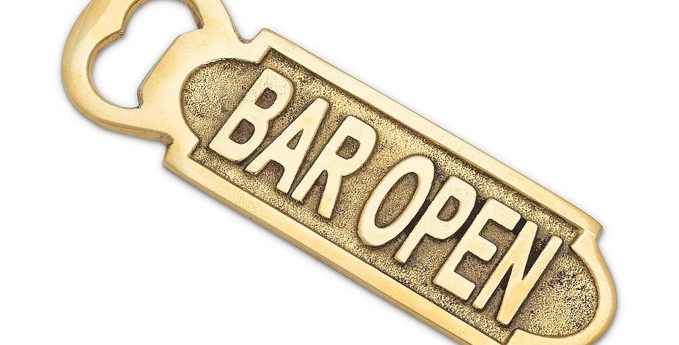 BAR OPEN - BOTTLE OPENER