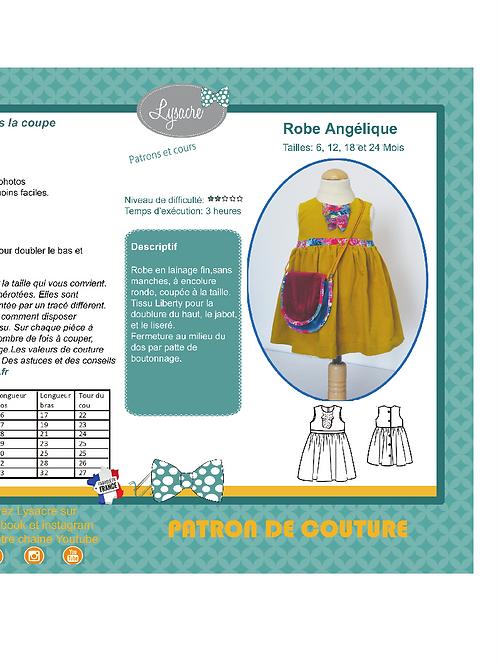 Patron robe Angelique