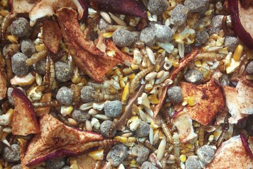 Mealworm Mashup Chicken Treat