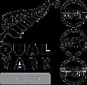 Qualmark Silver Award Logo Stacked no ba