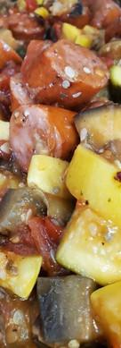 Smoked Andouille Sausage Ratatoullie