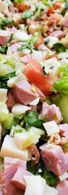 Club Sandwich Chopped Salad