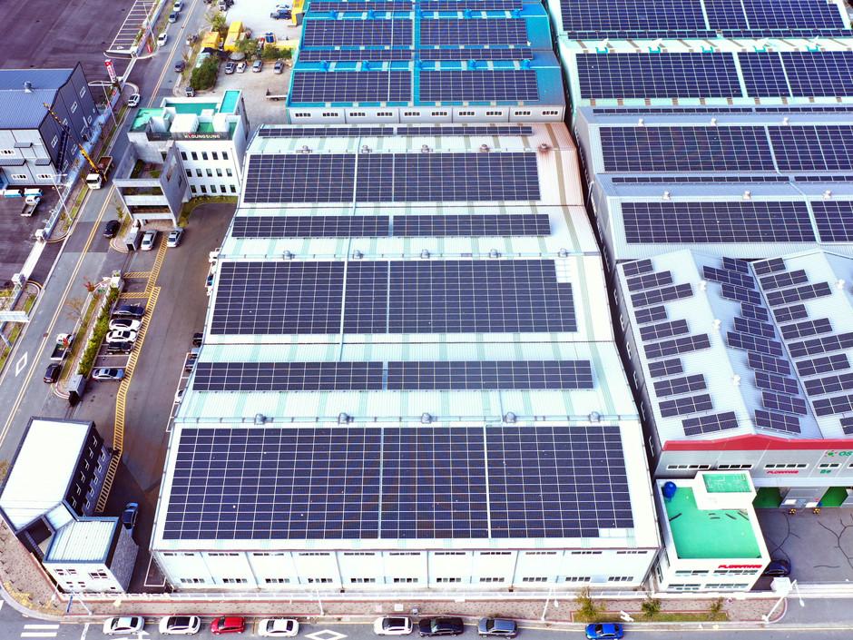 경성산업 태양광발전소