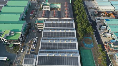 보명피앤티 태양광발전소