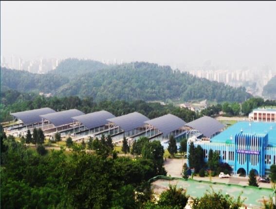 경기도 광명 노온정수장 태양광발전소