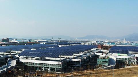 서부산유통단지 T-Plex 기계공구상가 태양광발전소