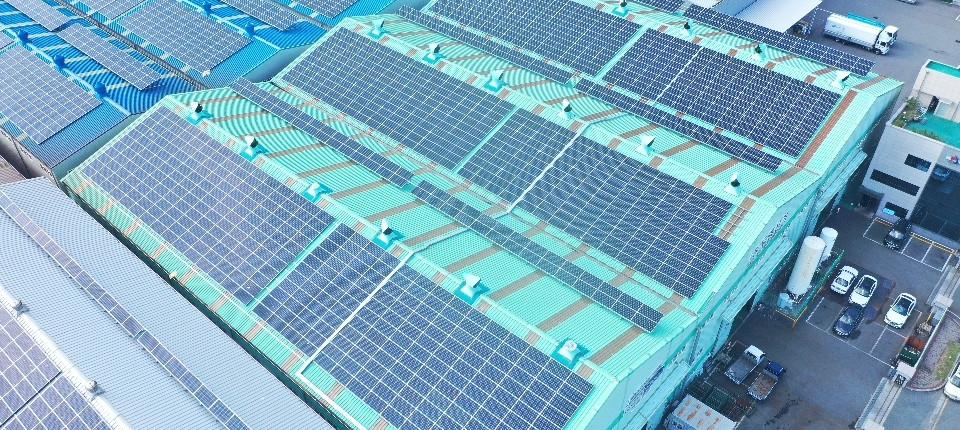 두영산기(본점) 태양광발전소 410.4 [KW]