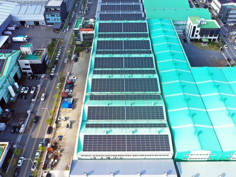 세진밸브공업 태양광발전소