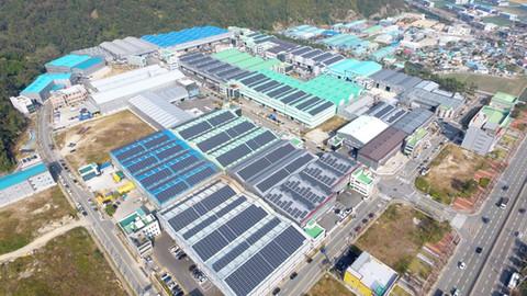 부산여성CEO전용산단 입주업체 지붕형 태양광 사업
