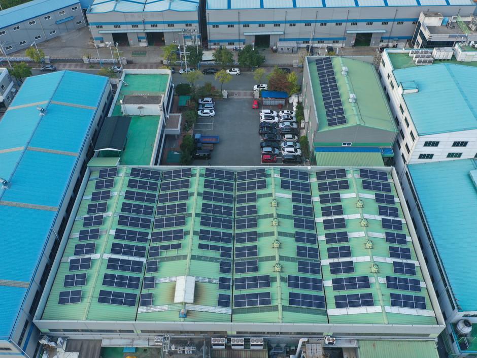 드림하이테크 태양광발전소