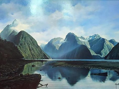 'Majestic Mitre Peak'