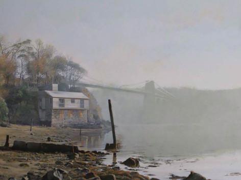 'Carreg Halen, Menai Bridge'