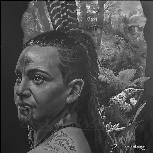 'Spirit of the Forest' Medium -50cm x 50cm