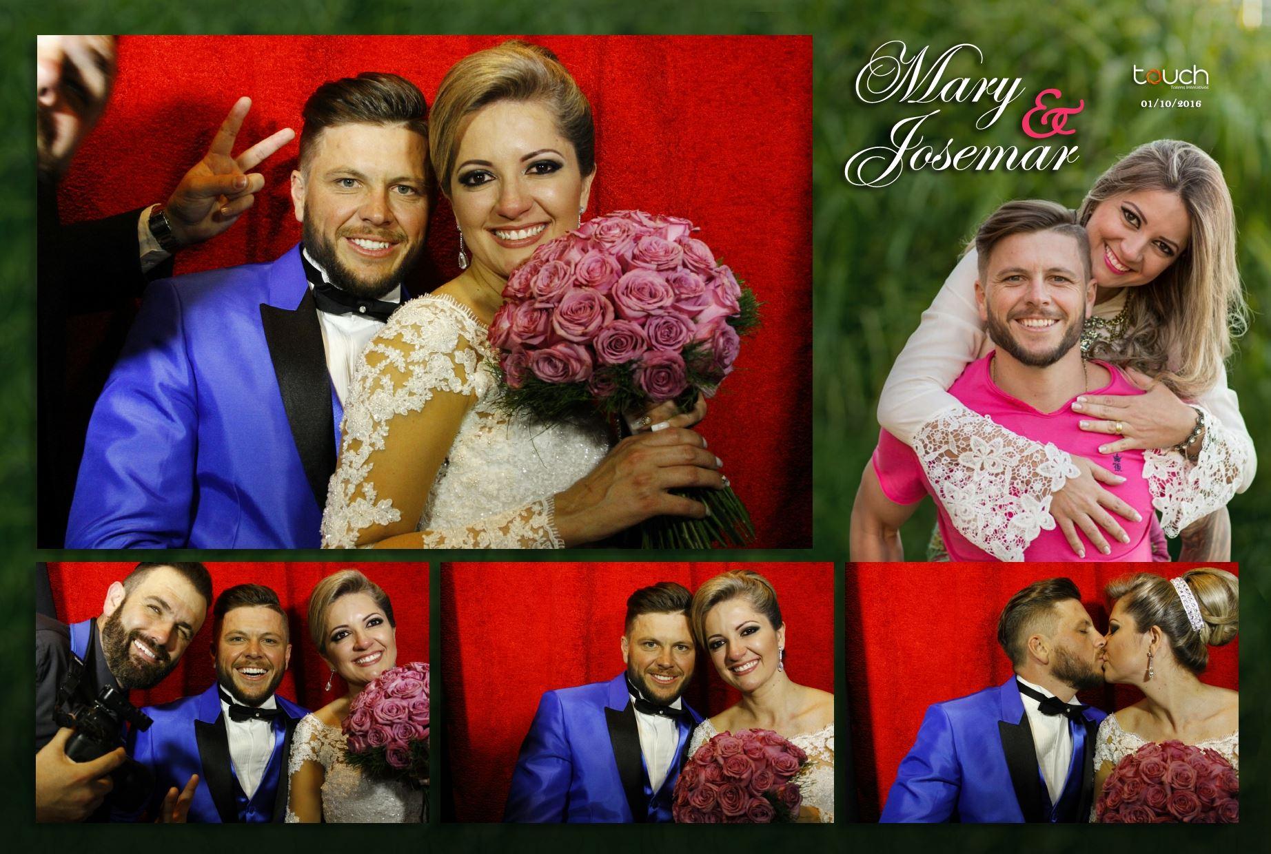 Casamento Mary e Josemar ~Cabine~