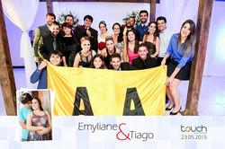 Casamento Emyliane e Tiago