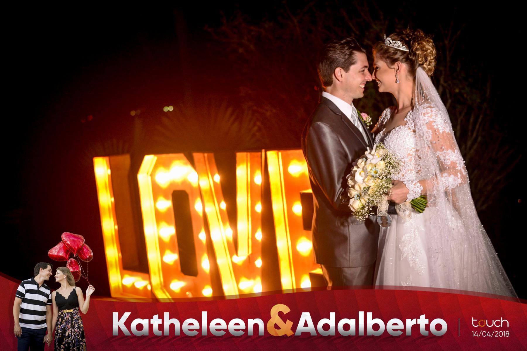 Katheleen e Adalberto