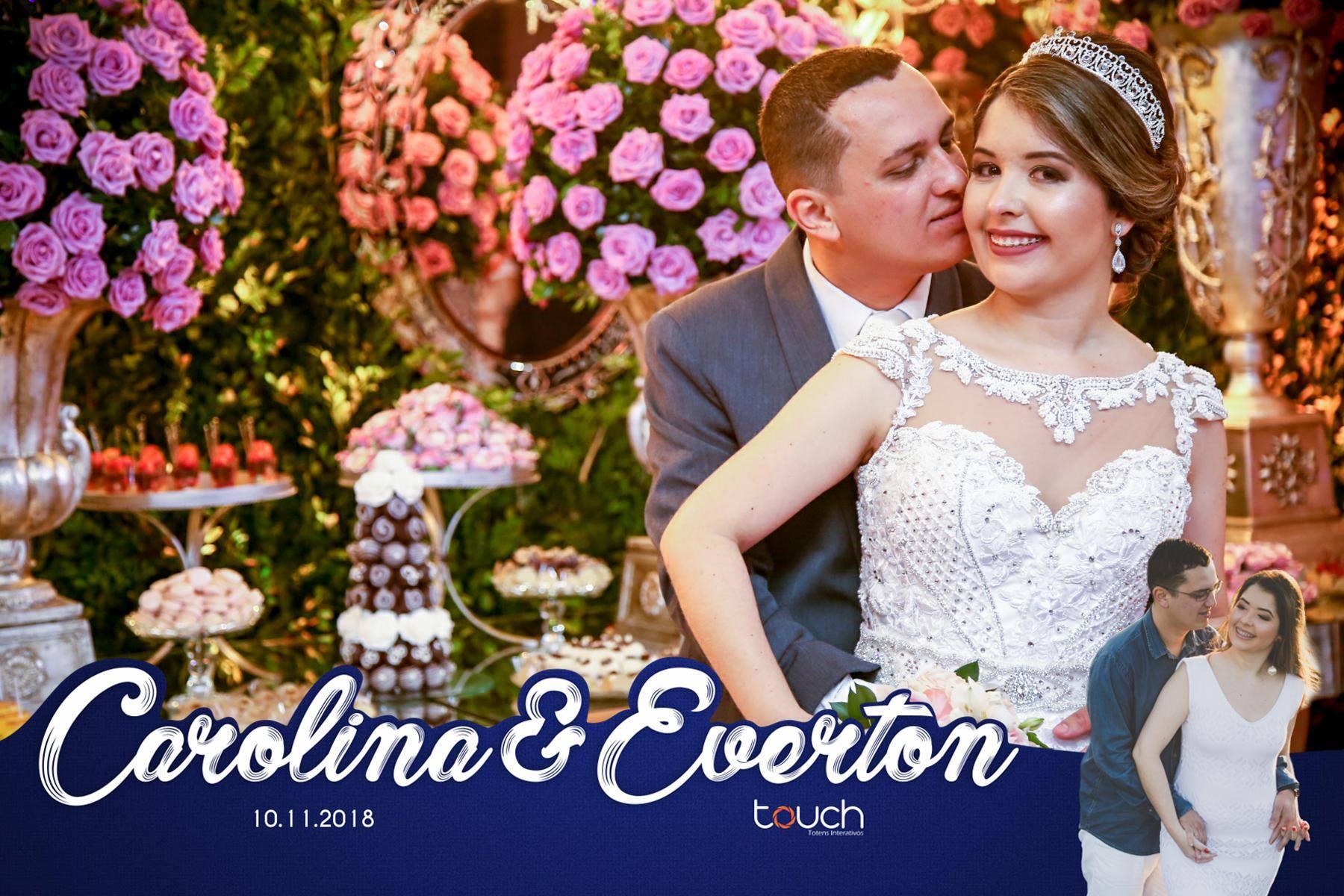 Casamento Carolina e Everton
