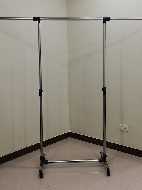 SINGLE POLE CLOTHES RACK/GARMENT RACK