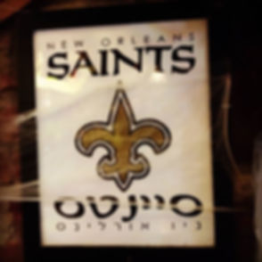 New Orleans #Saints #Nola #ישראליםמטיילי