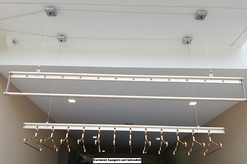 2.4 M Aluminum Ceiling mounted clothesline