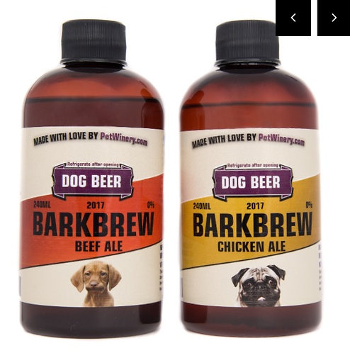 Dog Beer - BARKBREW Beef or Chicken Ale
