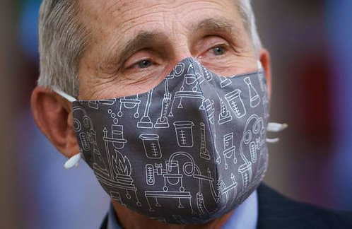 Dr. Fauci Double Mask