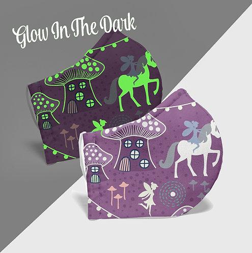 Unicorns and Fairies Purple