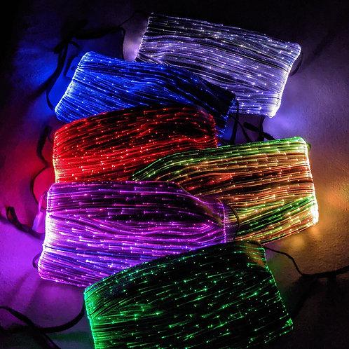 Fiber Optics Light-Up Rave Cover
