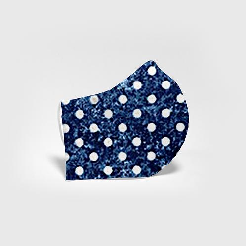 Blue Polka Dot - Ready to Ship