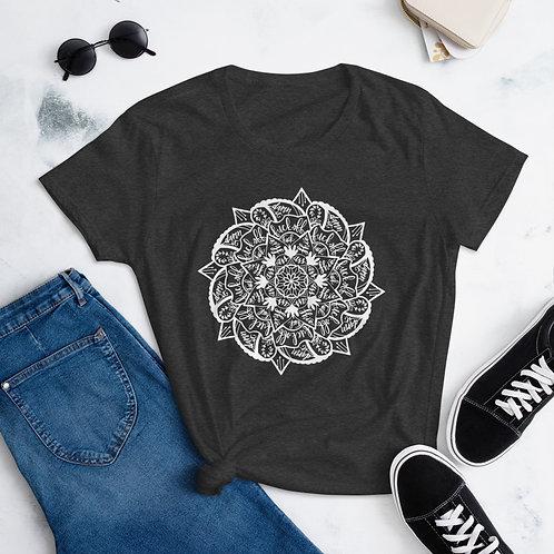 Women's Curse Mandala   White