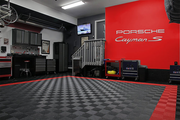 PORSCHE Cayman S Combo 6 Foot Garage Sign