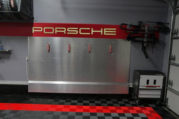 Porsche Sign 6 Feet Long Brushed GOLD LTD EDITION