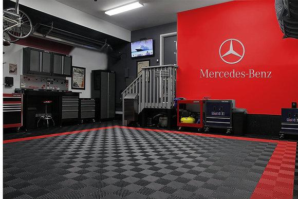 Mercedes Benz Star & Text combo Garage Sign 6 Feet
