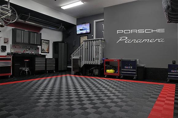 Porsche Panamera combo Garage Sign 6 Feet Long Bru