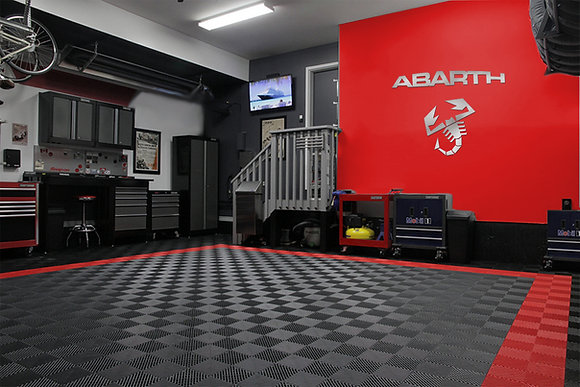 ABARTH Letters and Logo combo Garage Sign 4 Feet L