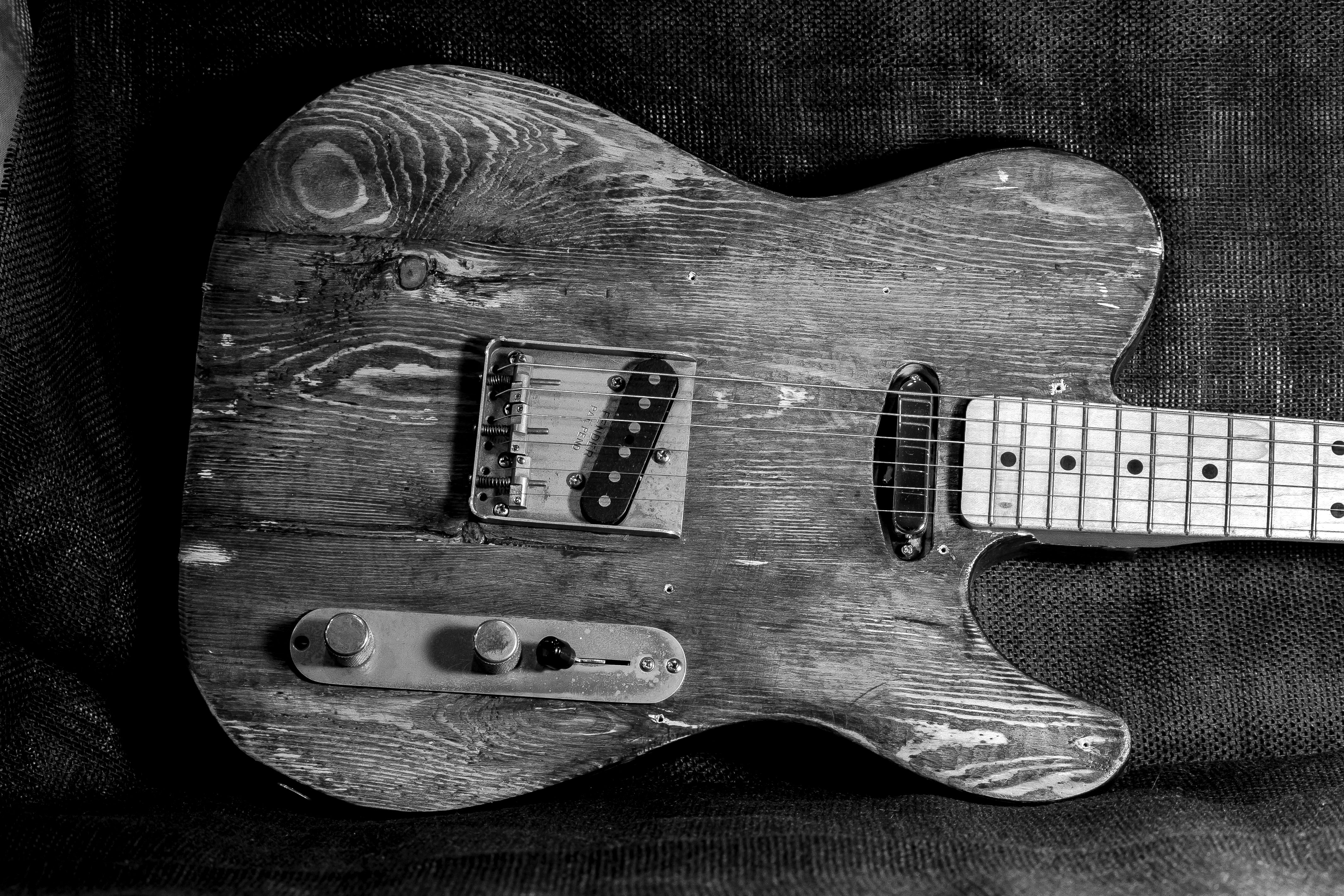 Pine telecaster front body