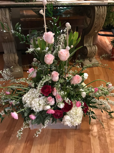 French Provance flower arrangment