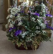 Rosh Hashanah flower arrangment