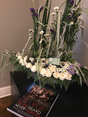 Arrangement for the event