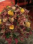 Interior dry flower arrangement