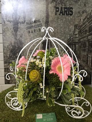 Cinderella flower carriage
