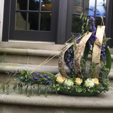 Flower boat for Hanukkah