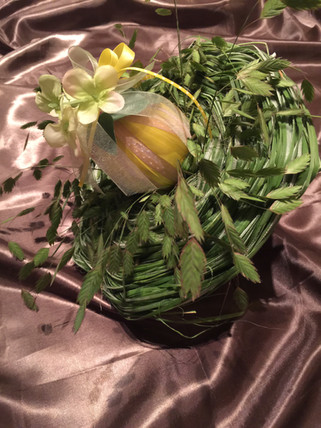Easter flower arrangment